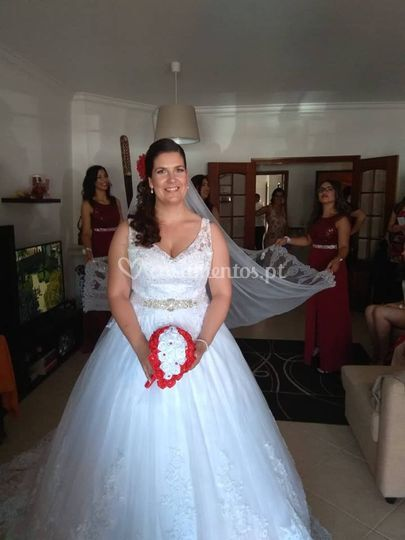 Noiva Márcia Santos