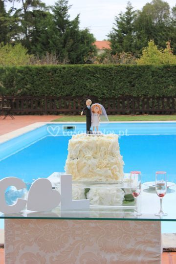 C&L wedding cake 2