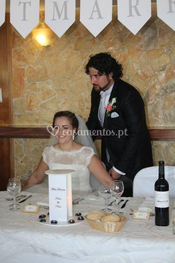 Just Married - Sala Casamento