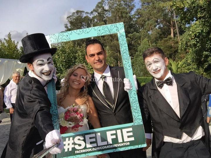 Mimos Selfies de Coragem Eventos