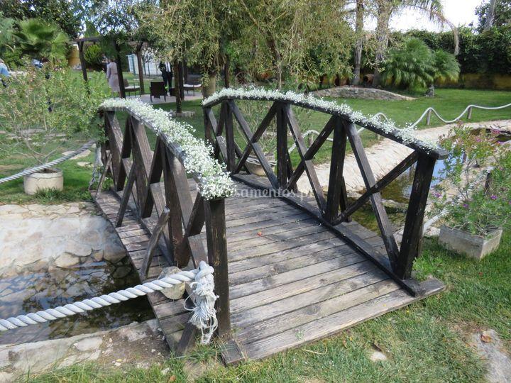 Decoração de ponte