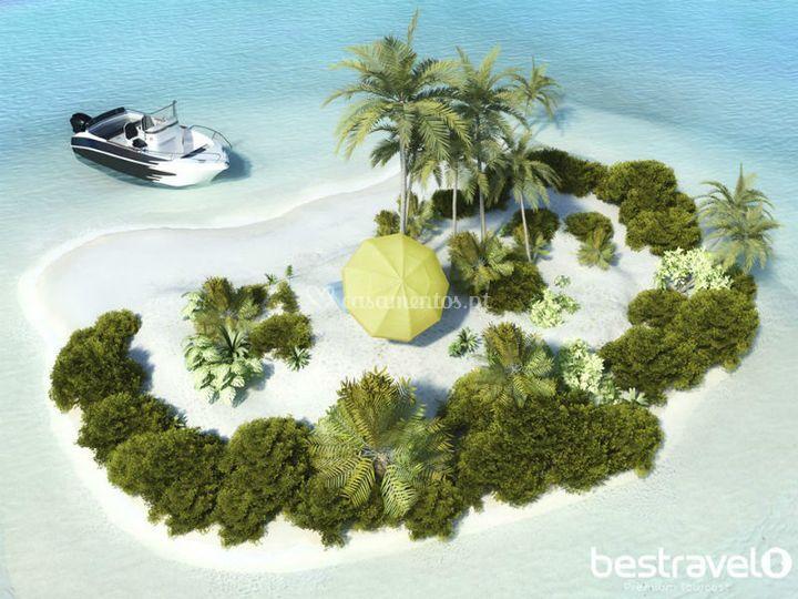 Ilha idílica