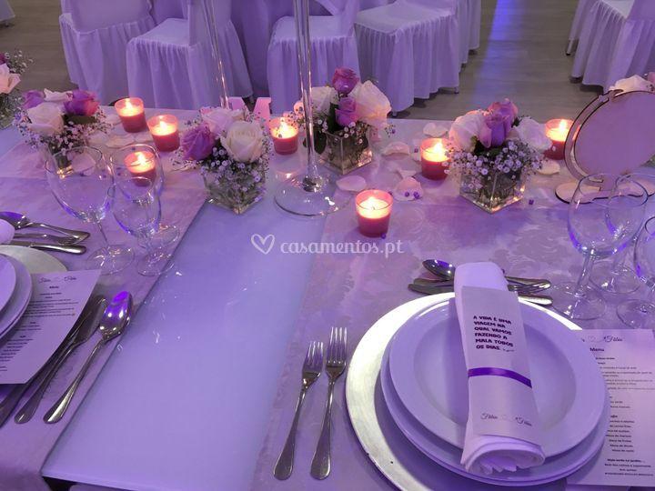Mesa lilas