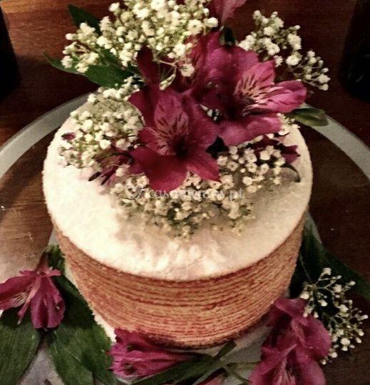 Naked-rolo flores frescas