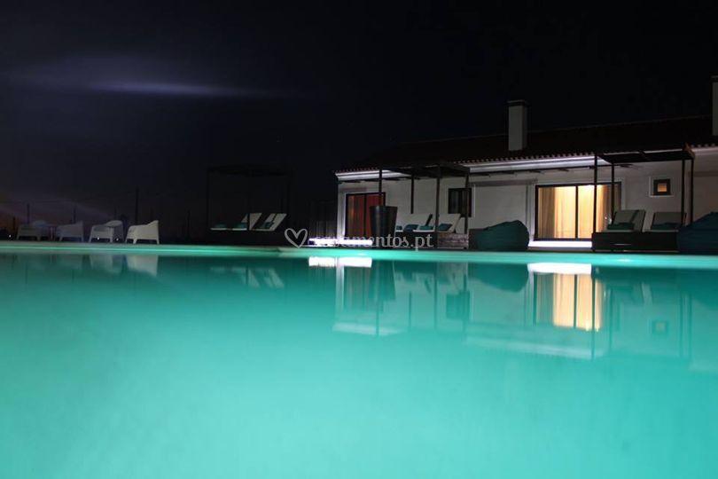 Casa e piscina