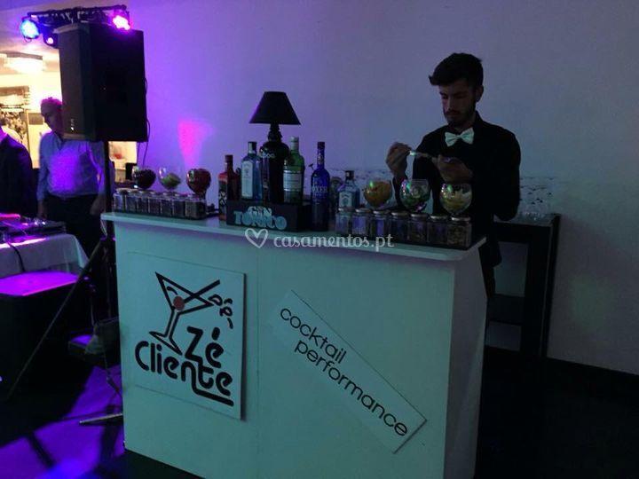 Zé Cliente Cocktail Performance