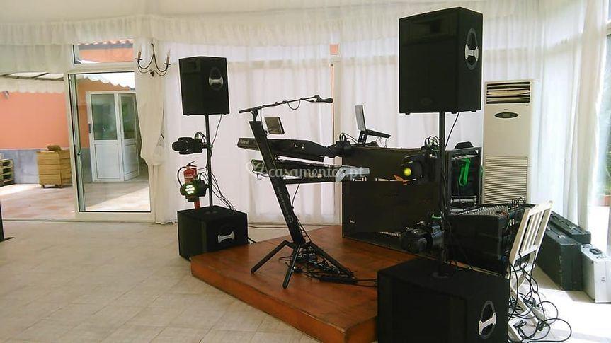 Opção dj mais músico