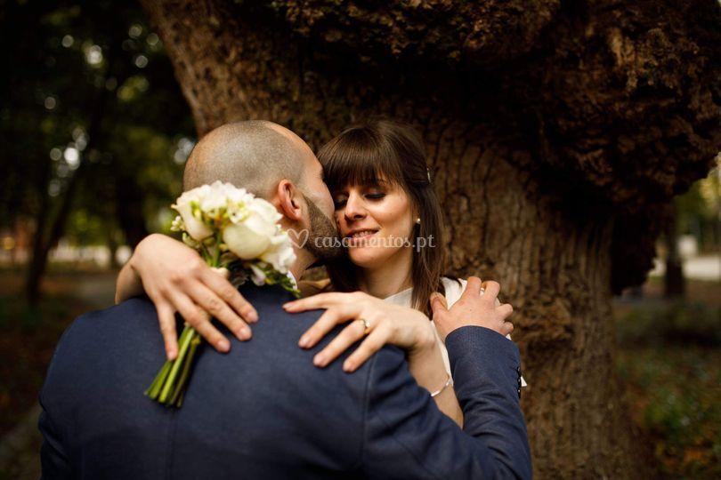 Maquilhagem - casamento civil