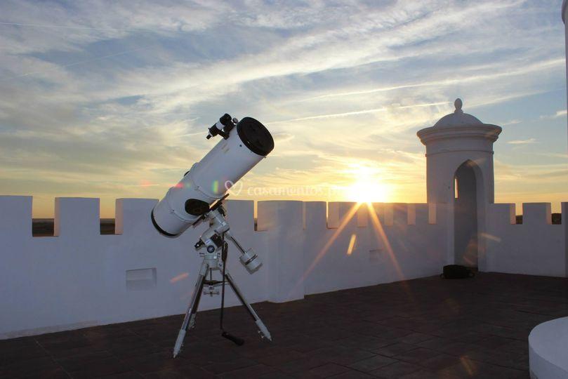 Observação de estrelas