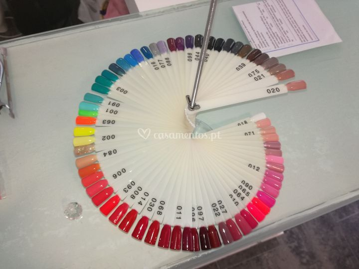 Palete de cores