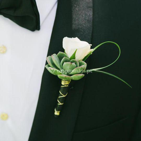 Lapela padrinhos noivos