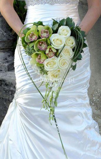 Bouquet de noiva flor natural