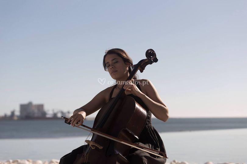Violoncelista Joana Correia