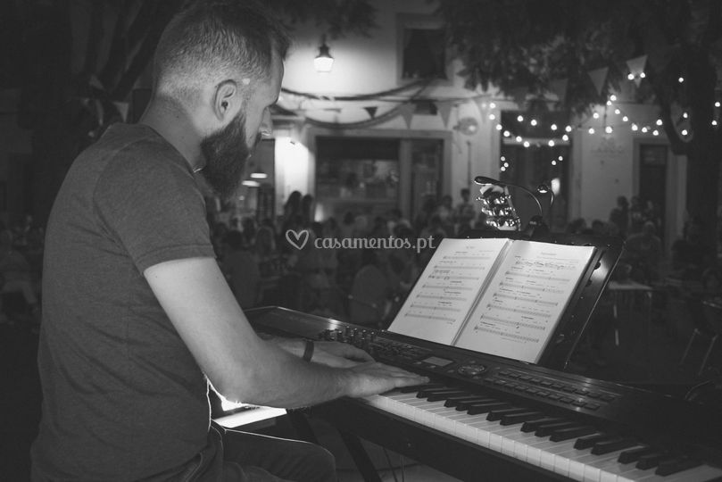 O piano tem outro charme