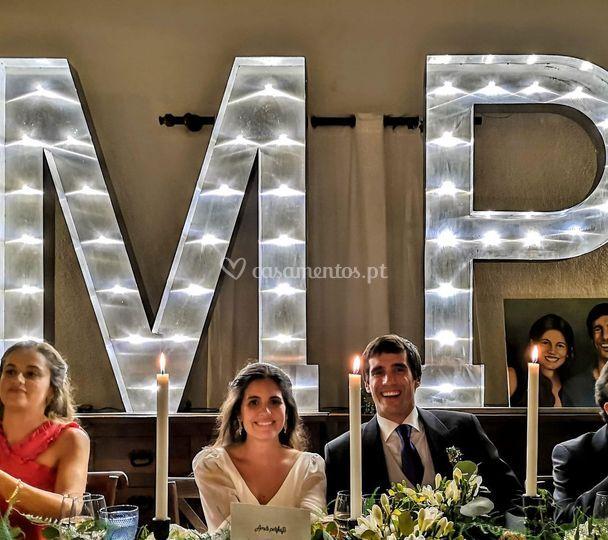 Noivos Mariana e Pedro