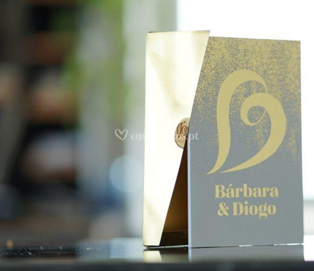Convite gold - logotipo