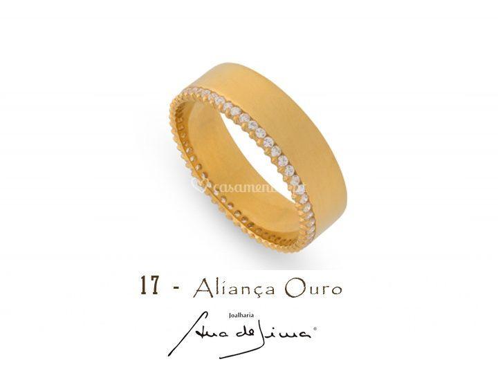 Aliança Ouro - Ana de Lima