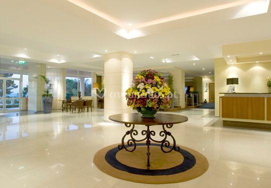 Decoração floral Hotel