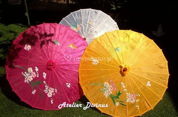 Sombrinhas Chinesas