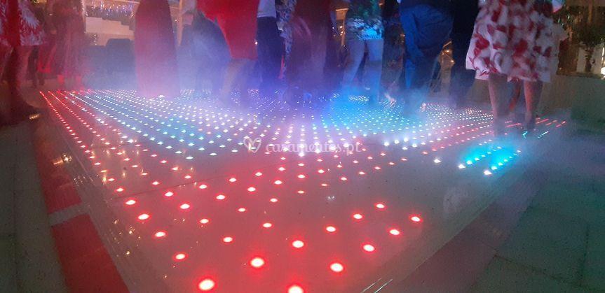 Pista Dança Leds Multicolor