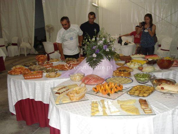 Treats para seus convidados
