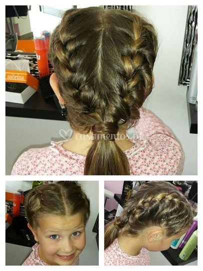 Penteado menina