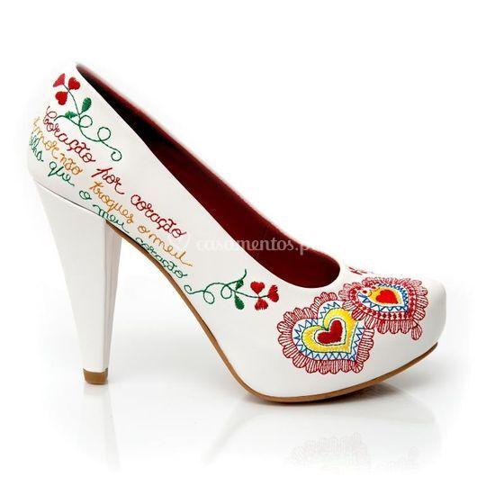 Sapato Flor de Lis