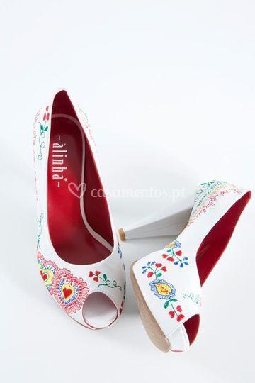 Sapato Flor de Laranjeira