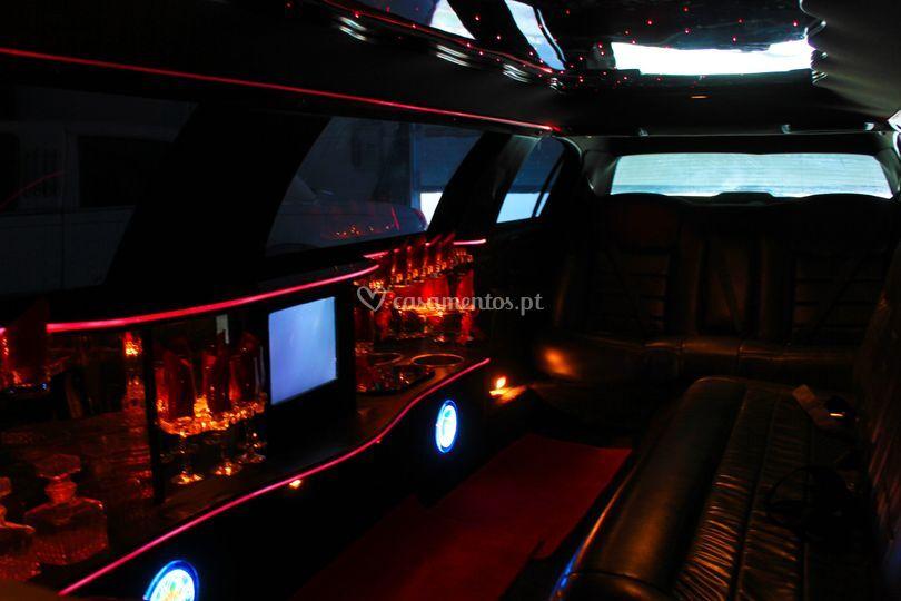 Interior limo millennium 9mt