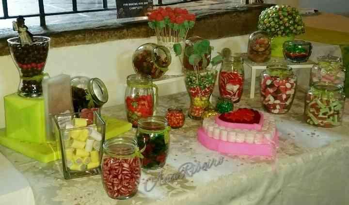 Candy bar para casamento