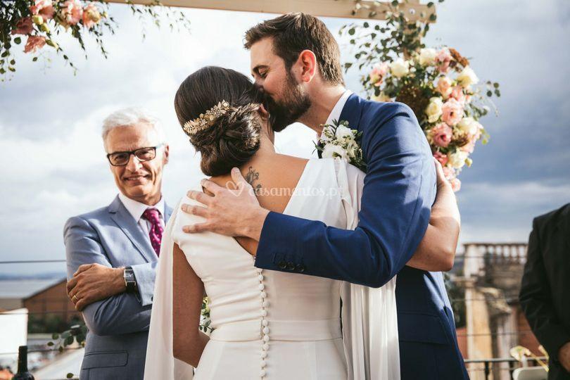 O beijo do noivo