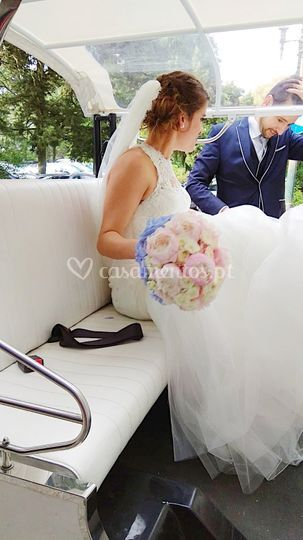 Noiva em Tuk Tuk