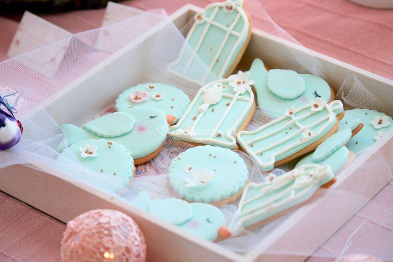 Little birds cookies