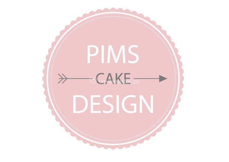 Logotipo Pims Cake Design