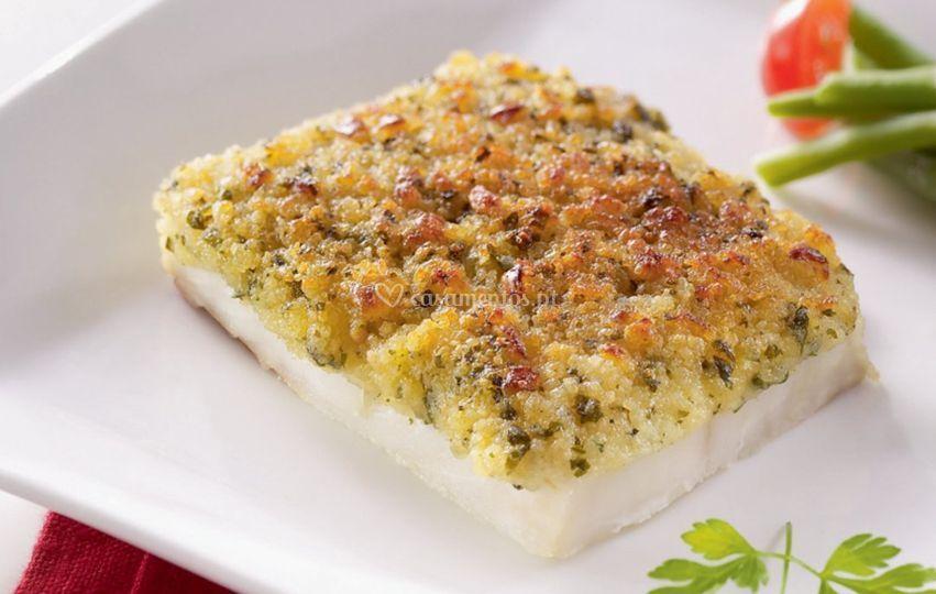 Peixe branco molho bordalesa
