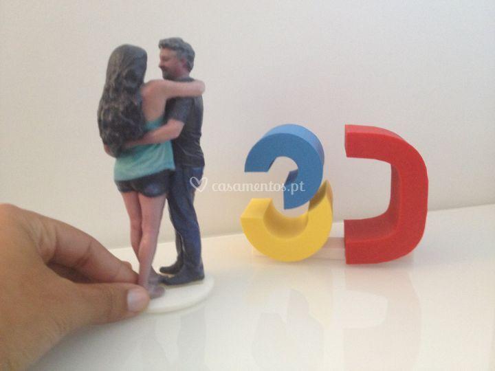 Miniaturas reais noivos