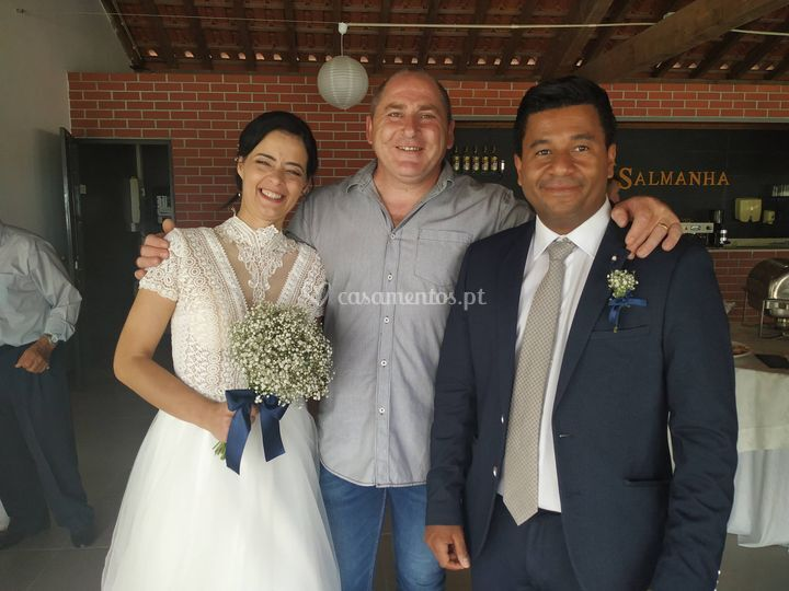 Márcia, FSilva e Miguel