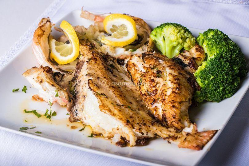 Prato peixe
