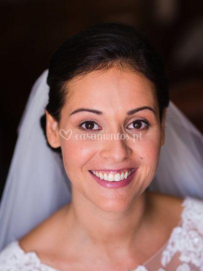 Maquilhagem de noiva natural