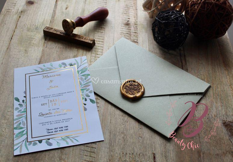 Convite foil