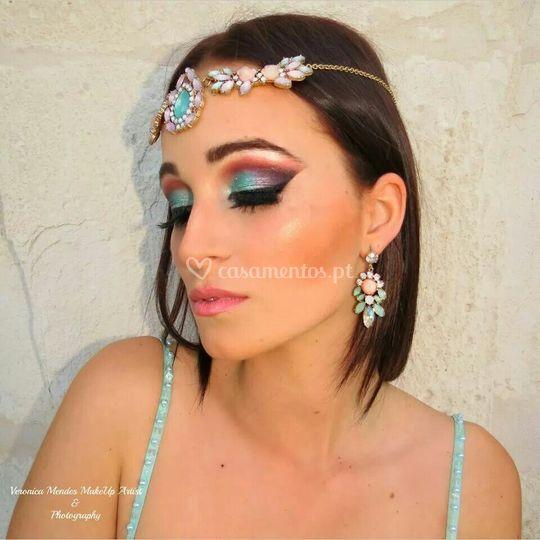 A maquilhagem árabe