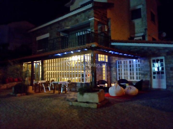 Exterior restaurante Noturno