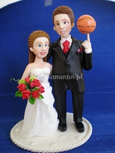 Noivinho jogador de basket