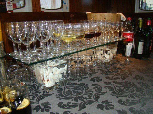 Exemplo do bar