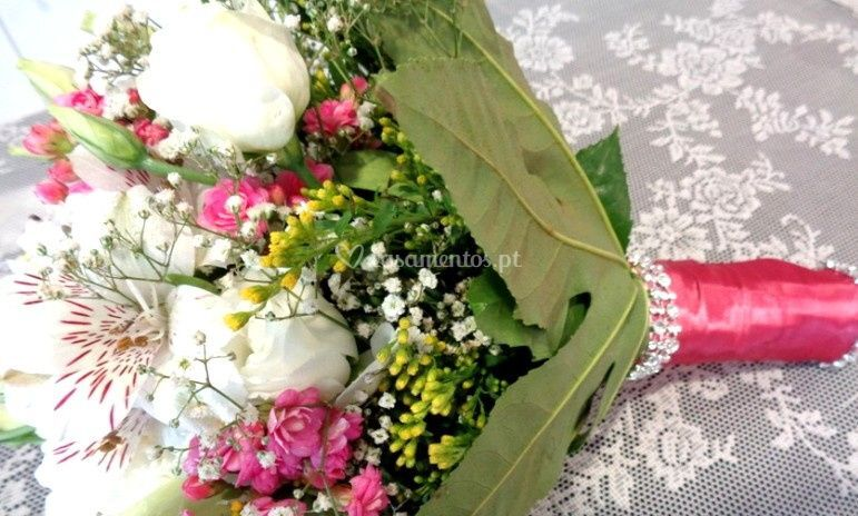 Produzem o seu bouquet