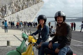 Lisbon Vintage Scooter