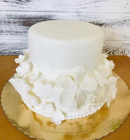 Miss Brownie Cake