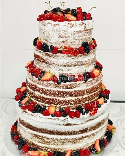 Miss Brownie Naked Cake