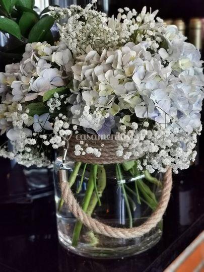 Flores centro de mesa