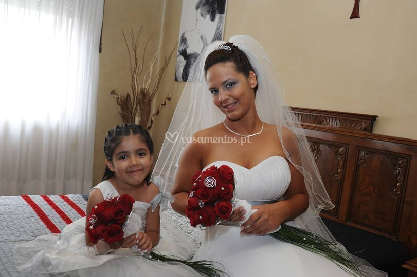 Noiva e menina das alianças 1